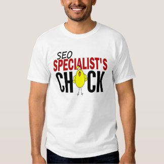 El polluelo del especialista de SEO Camisas