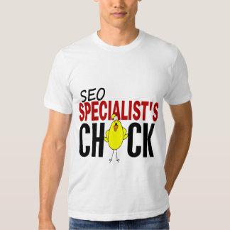 El polluelo del especialista de SEO Polera