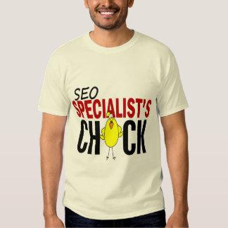 El polluelo del especialista de SEO Poleras