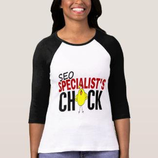 El polluelo del especialista de SEO Remera