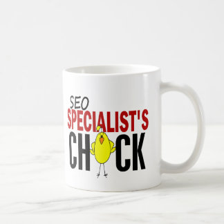 El polluelo del especialista de SEO Taza De Café