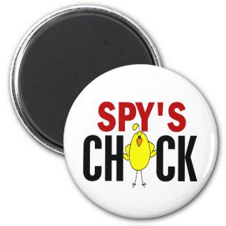 El polluelo del espía imanes para frigoríficos