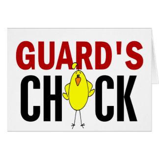 El polluelo del guardia felicitaciones