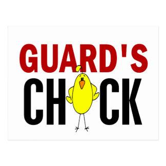 El polluelo del guardia postales