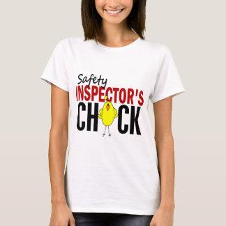 El polluelo del inspector de la seguridad playera