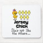 El polluelo del jersey tapete de raton