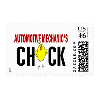 El polluelo del mecánico automotriz