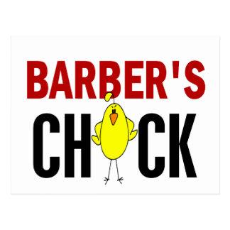 El polluelo del peluquero postales