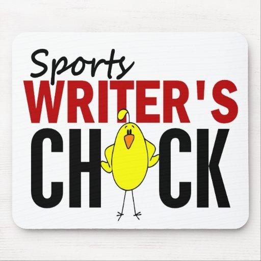 El polluelo del periodista deportivo tapete de ratón