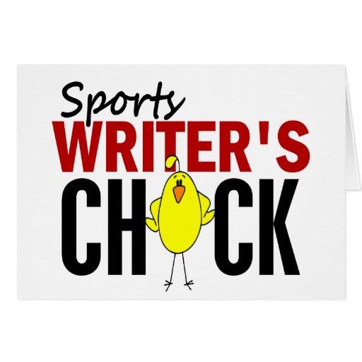El polluelo del periodista deportivo tarjetas