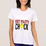 El polluelo del piloto de prueba camiseta