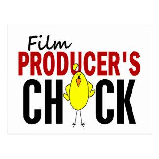 El polluelo del productor cinematográfico tarjetas postales