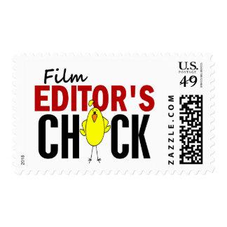 El polluelo del redactor de la película envio
