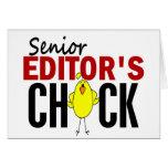 El polluelo del redactor mayor felicitaciones