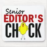 El polluelo del redactor mayor tapetes de raton