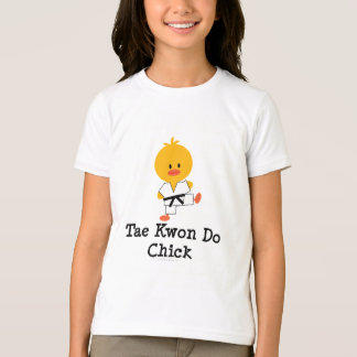 El polluelo del Taekwondo embroma la camiseta