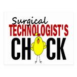 El polluelo del tecnólogo quirúrgico postales