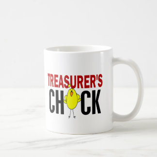 El polluelo del tesorero taza de café