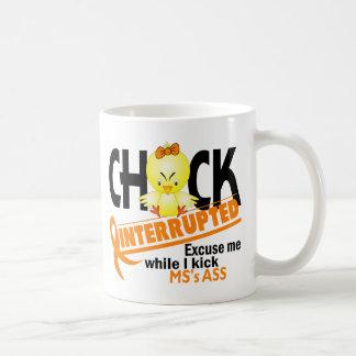 El polluelo interrumpió a ms 2 taza de café