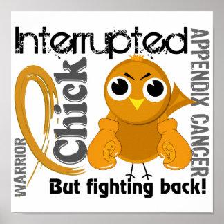El polluelo interrumpió al cáncer de 3 apéndices póster