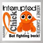 El polluelo interrumpió al cáncer de 3 riñones impresiones