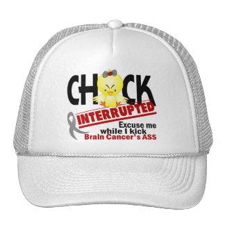 El polluelo interrumpió al cáncer de cerebro 2 gorras