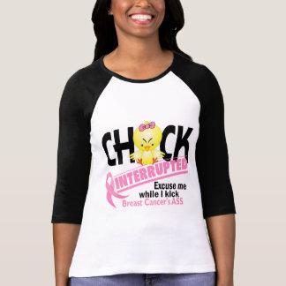 El polluelo interrumpió al cáncer de pecho 2 camiseta