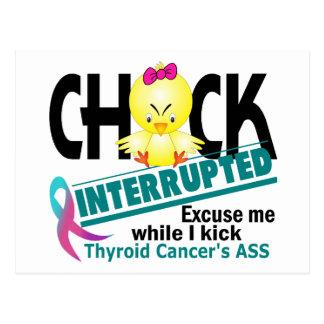 El polluelo interrumpió al cáncer de tiroides 2 postales