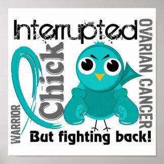 El polluelo interrumpió al cáncer ovárico 3 póster