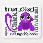 El polluelo interrumpió el Fibromyalgia 3 Mouse Pad
