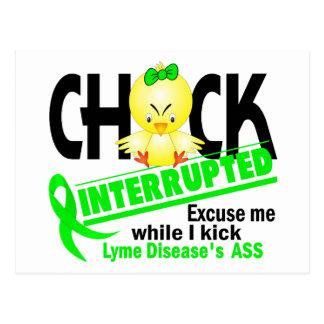 El polluelo interrumpió la enfermedad de 2 Lyme Postal