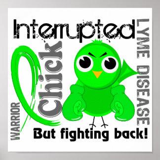 El polluelo interrumpió la enfermedad de 3 Lyme Impresiones