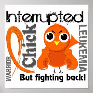 El polluelo interrumpió la leucemia 3 impresiones