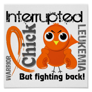 El polluelo interrumpió la leucemia 3 póster
