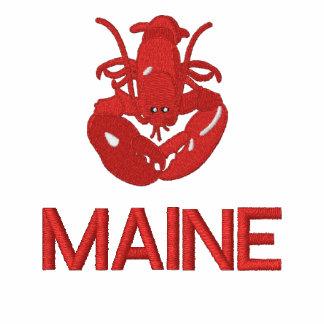 El polo bordado langosta de Maine Camisa-Puede cor