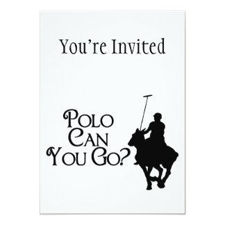 El polo puede usted ir comunicado personal