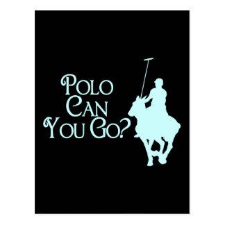El polo puede usted ir tarjeta postal