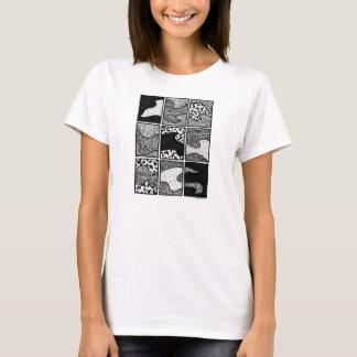 """El """"polvo asalta"""" la camiseta de las mujeres"""
