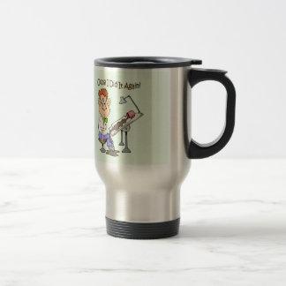 """¡El ponente derrama el ~ del café """"Oops! ¡Lo hice Taza De Viaje"""