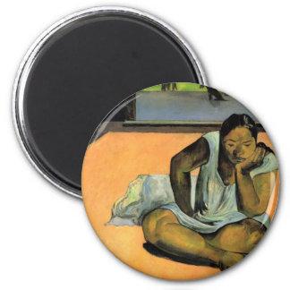 El poner mala cara o silencio - Paul Gauguin Imán