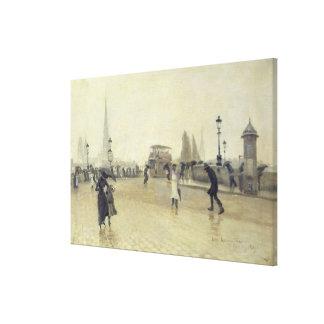 El Pont Corneille, Ruán, 1891 Lienzo Envuelto Para Galerias