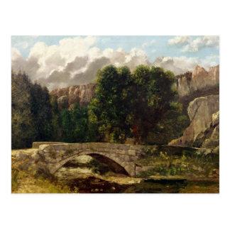 El Pont de Fleurie, Suiza, 1873 Postal