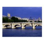 El Pont-Neuf es el puente más viejo de París, Fran Postales