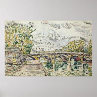 El Pont Neuf, París, 1927 Póster