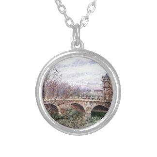 El Pont real y el Pavillion de Flore Colgante Redondo