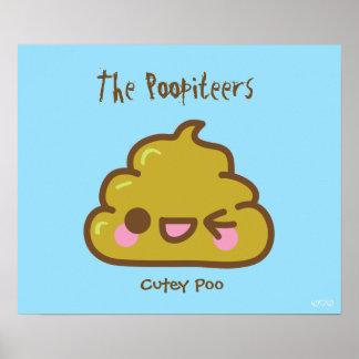El Poopiteers - el Cutey Poo Impresiones