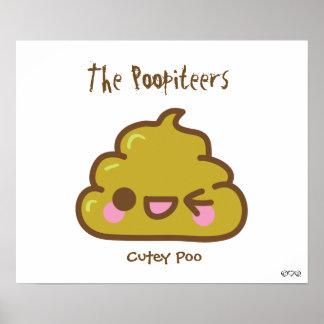El Poopiteers - el Cutey Poo Poster