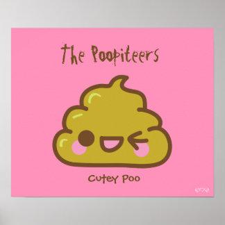 El Poopiteers - Poo fresco Póster