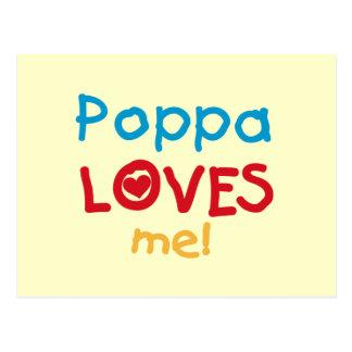 El Poppa me ama las camisetas y los regalos Postales