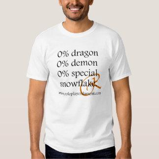 El por ciento cero camisas